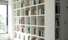 Study - Newcastle design bookshelves
