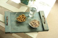 Beautiful rustic wooden  trays made from pallets by APT8ecodesign, ₪130.00