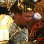 White African King Togbe Korsi Ferdinand Gakpetor II of Ewe Tribe Ghana https://www.youtube.com/watch?v=TvGKpcKw3xI … #luxury #royalafrica