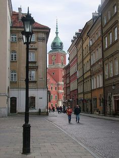 Sigismund's Tower, Warsaw, Poland