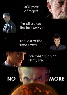 """No more."" 