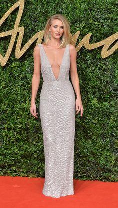 British Fashion Awards 2015 - Red Carpet Arrivals - Rosie Huntington-Whiteley