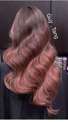 Guy tang rose ombre hair