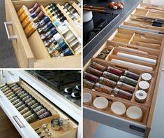 9+1 elképesztően praktikus és gyönyörű konyhafiók - Konyhatrend Wine Rack, Furniture Design, Interior Design, Storage, Home Decor, Organization, Projects, Interior Design Studio, Organisation