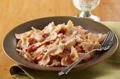 Cremosa pasta con pollo, tocino y tomate Receta - Comida Kraft