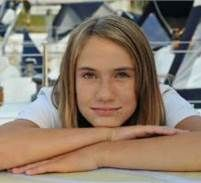 Laura Dekker: a thirteen-year-old Dutch girl, decided she wanted to sail around the world by herself.