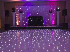 Glow On -- Black Light Dance Floor