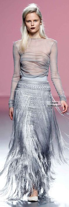 The Best Gowns of Fall 2014 Fashion Week International: Duyos FW 2014 #MadridFashionWeek
