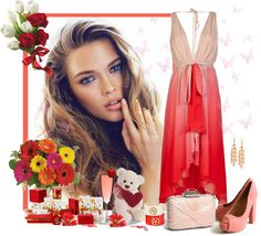 """""""Coral"""" by scorpioncina86 on Polyvore"""