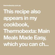 This recipe also appears in my cookbook, Thermobexta: Main Meals Made Easy, which you can check out here. I am really excited about this! I stopped buying tomato sauce afew years ago and haven't had store bought since but if my memory serves me correctly, this tastes just like it. I have made many different…