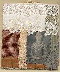 Gillian Allen, Victorian needle case, back