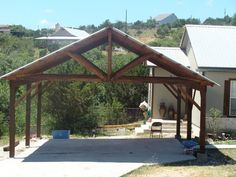 carports,arbors - by loneframer @ LumberJocks.com ~ woodworking community