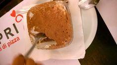 Esse é o Tiramisu do restaurante italiano Paprika, também em Belém.