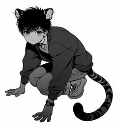 Images of neko anime boy - Anime Neko, Kawaii Anime, Manga Anime, Neko Boy, Character Inspiration, Character Art, Anime Child, Anime Boys, Anime Cat Boy