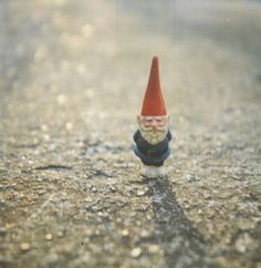 a traveling gnome amelie Amelie, Traveling Gnome, Gnome House, Gnome Garden, Leprechaun, Belle Photo, Faeries, Make Me Smile, Fairy Tales