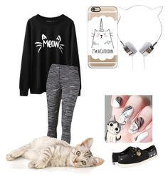 """""""Kitty Cat (MEOW!!)"""" by gymnastsrule21 ❤ liked on Polyvore featuring Puma, Casetify, Keds, women's clothing, women, female, woman, misses and juniors"""