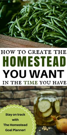 What are your homesteading dreams? A large vegetable gardening, preserved food, raising goats, chickens, etc? Make your homestead dreams come true! The Homestead Goal Planner will help you prioritize your life and your homestead goals so that you can make steady progress toward creating the homestead you've always dreamed of!