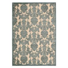 I pinned this Bordeaux Rug in Teal from the Nourison event at Joss and Main!