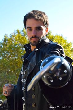 Captain Hook cosplay, cool costume