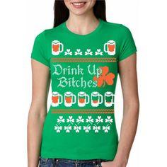 dfc94246 Drink Up St. Patrick's Ugly Sweater #crazydogtshirts #stpatricksday #beer  #irish #. Ugly SweaterSweater ShirtT ...