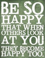 if you're happy and you know it..show it
