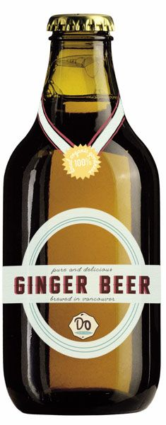 Dayandra Elrod Portfolio   Ginger Beer Label