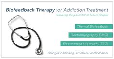 #Biofeedback is unique because with guidance from the treatment administrator, a person can gain a significant measure of control over the stresses that cause these involuntary reactions and begin to actually control them. #addiction #therapy #treatment #recovery