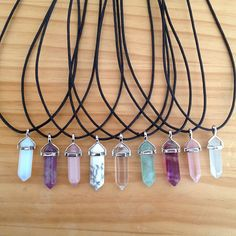 Image of Crystal Healing Choker Kawaii Jewelry, Cute Jewelry, Jewelry Accessories, Resin Jewelry, Crystal Jewelry, Crystal Necklace, Cute Necklace, Stone Necklace, Jewelery