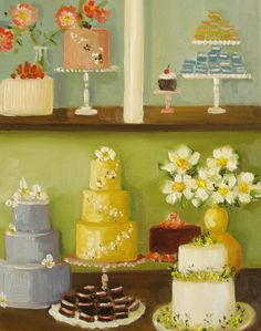 """The Cake Show"" by Janet Hill"