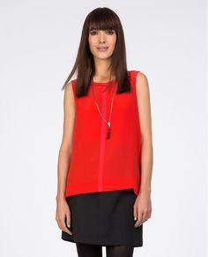 Silk top   Tunics and shirts   Comptoir des Cotonniers