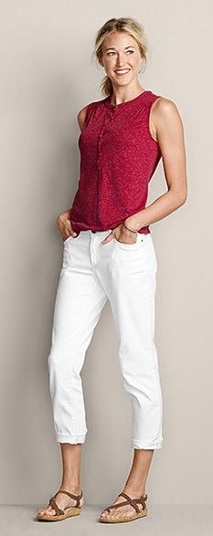 Outfitting-women | Eddie Bauer I love this entire look.  However, I am not this tall or slender.
