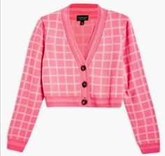 Pink Outfits, Mode Outfits, New Outfits, Fashion Outfits, Womens Fashion, Look Vintage, Cropped Cardigan, Cute Fashion, Aesthetic Clothes