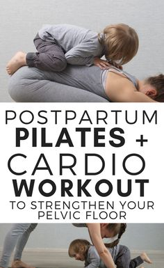 A postpartum workout that will save your core and pelvic floor, while als. A postpartum workout that will save your core and pelvic floor, while als. Postpartum Workout Plan, Post Pregnancy Workout, Pregnancy Advice, Postnatal Workout, Pregnancy Care, Postpartum Care, Postpartum Recovery, Cardio Pilates, Beginner Pilates