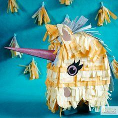 diy-Einhorn-Pinata-selbermachen, kostenlose Anleitung, freebie, Pferd, basteln, Piñata, creating, horse, unicorn, Paper, Papier, Glitzer