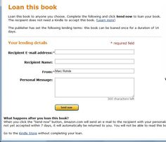 Connect With Other Kindle Users and Share eBooks Loan for Free-for Brandi!!