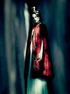 """""""And High Fashion"""" Saskia De Brauw by Paolo Roversi for Vogue Italia March 2015"""