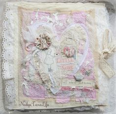 Cloth Baby Book! Shabby chic: Shabby book - окончание - Nadya Tana Lifa
