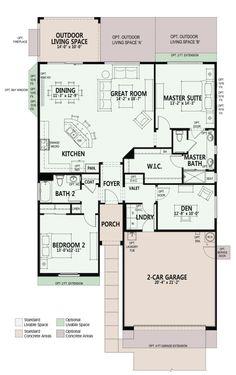 Montecito Floorplan