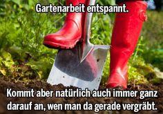 Gartenarbeit...