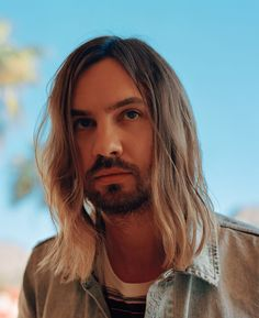 """Kevin Parker embraced his inner stadium rocker and built Tame Impala into one of biggest young bands around. """"I'm always trying to work out… Kevin Parker, Tame Impala Songs, Indie Photography, Music X, One Of The Guys, Artist Logo, Hollywood Actresses, Rolling Stones, Cool Pictures"""