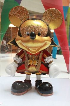 Renaissance Mickey by The One Academy at the 'Mickey Mouse Through the yEars' exhibition at Mid Valley Megamall, KL