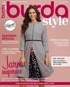 Březnové vydání měsíčníku Burda Style v prodeji od 21. února!
