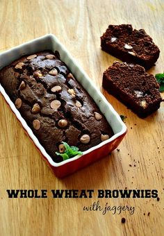 Whole wheat brownie recipe, learn how to make whole wheat brownie recipe using an easy step by step recipe with pictures for brownies.
