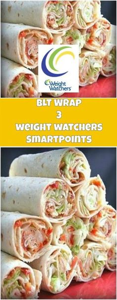 BLT Wrap 3 weight watchers SmartPoints Per Serving | weight watchers recipes | Page 2