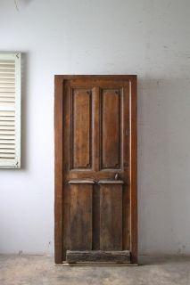 アンティーク 木枠付き 玄関ドア アンティーク ドア ドア 玄関ドア