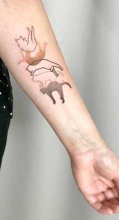 Dope Tattoos, Body Art Tattoos, New Tattoos, Sleeve Tattoos, Tatoos, Little Tattoos, Mini Tattoos, Small Tattoos, Small Animal Tattoos