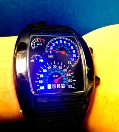 Speedometer Watch Goes from 0 to 60 Seconds… in 60 Seconds
