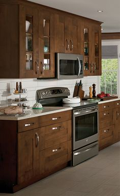 GE slate appliances - Multiple finishes, one sleek look Kitchen Cabinet Design, Replacing Kitchen Countertops, Kitchen Design Trends, Slate Appliances Kitchen, Kitchen Remodel, Kitchen Room Design, Home Kitchens, Kitchen Renovation, Kitchen Design