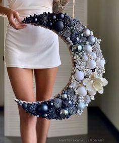 Ornament Wreath, Ornaments, Dream Catcher, Wreaths, Diy, Decor, Dreamcatchers, Decoration, Door Wreaths