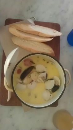 Mussels and clam soup